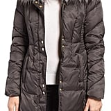 Via Spiga Water Repellent Quilted Puffer Coat With Faux Fur Trim ($228)