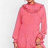 Tier She Comes Chiffon Mini Dress
