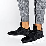 Adidas Black Tubular Defiant Sneakers