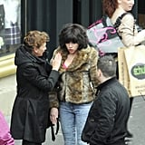 Scarlett Johansson filmed scenes for Under the Skin in Scotland.