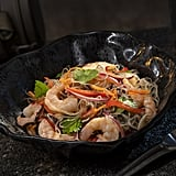 This Yobshrimp Noodle Salad, a marinated noodle salad with chilled shrimp, can be found at Docking Bay 7 Food and Cargo.