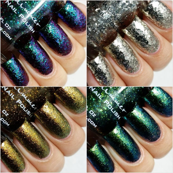 KBShimmer The Flakes Nail Polish Swatches | Summer 2015 | POPSUGAR ...