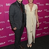 Colbie Caillat and Gavin DeGraw, who both created a song for the movie's soundtrack, walked the red carpet together.