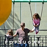 Matt Damon and Family in NYC | Pictures