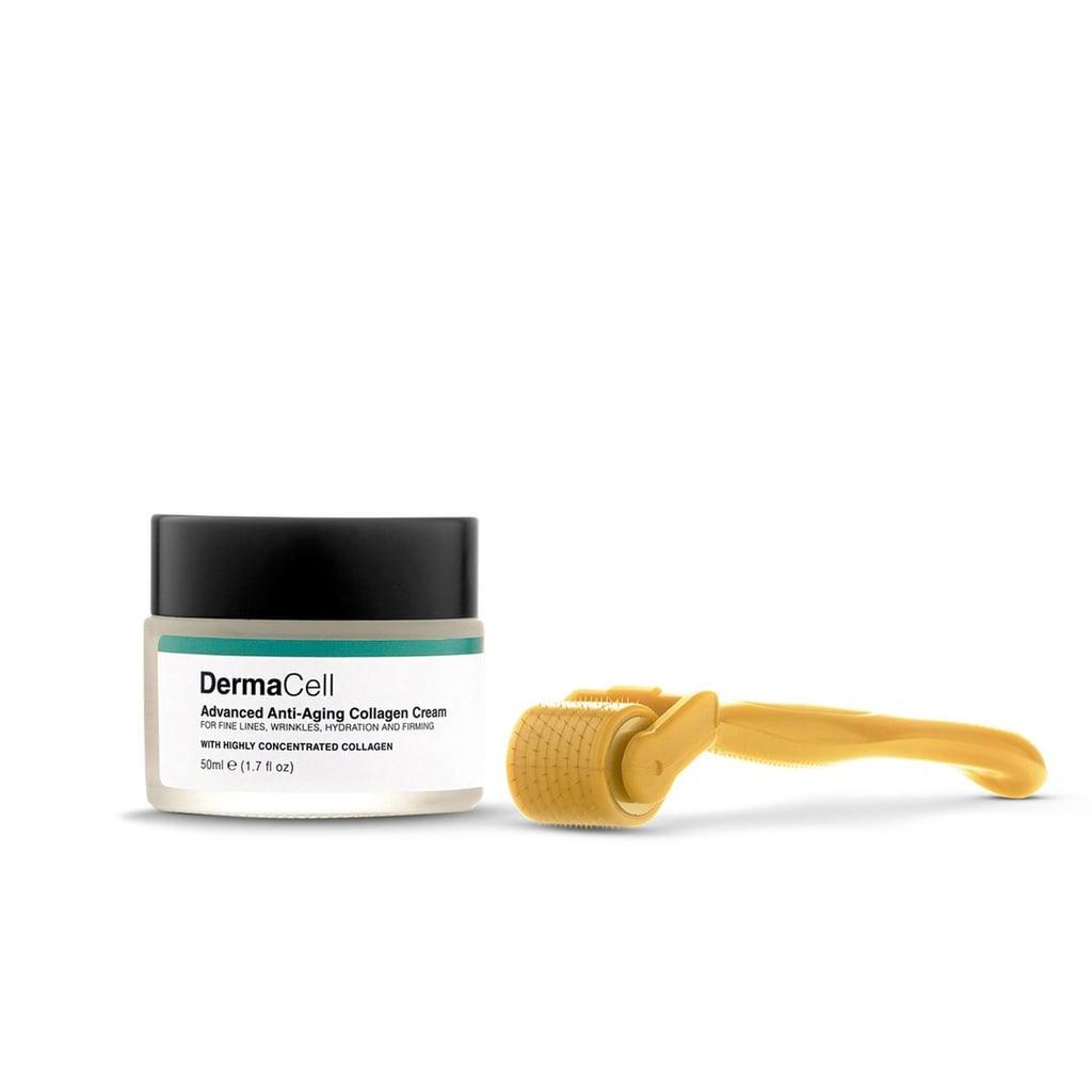 Dermaroller System With Collagen Cream