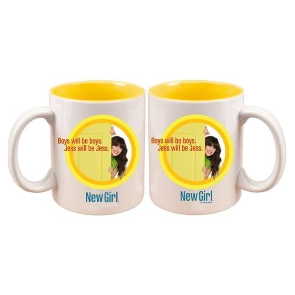 New Girl Boys Will Be Boys Mug ($15)