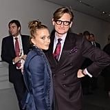 Mary-Kate Olsen and Hamish Bowles posed for photos at the awards in NYC.