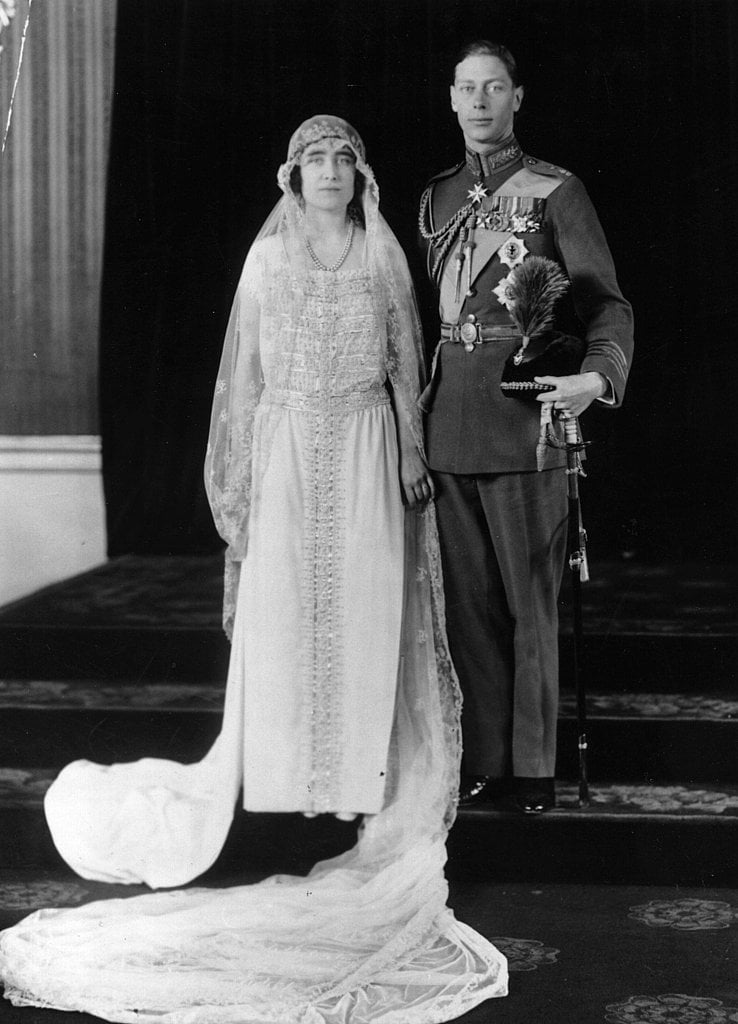 Prince Albert and Lady Elizabeth Bowes-Lyon