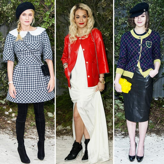 Diane, Hailee, and Rita Lead the Chanel Front-Row Pack