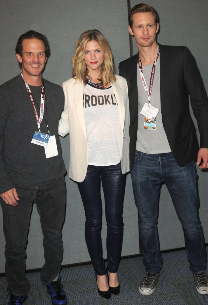 Brooklyn Decker and Alexander Skarsgard at WonderCon.