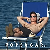 Josh Hartnett soaked up the sun during a July 2010 trip to Ischia, Italy.