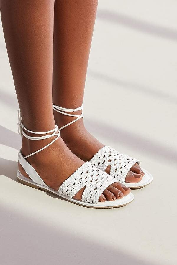 Urban Outfitters Luna Crochet Slingback Sandals