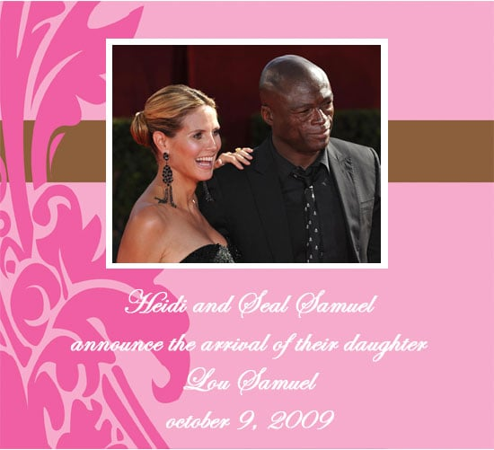 Heidi Klum Gives Birth to Daughter