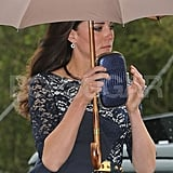 Kate Middleton's Anya Hindmarch clutch.