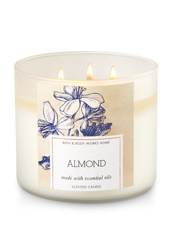 Almond candle ($25)
