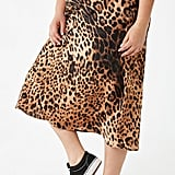 Forever 21 Plus Size Leopard Print Skirt