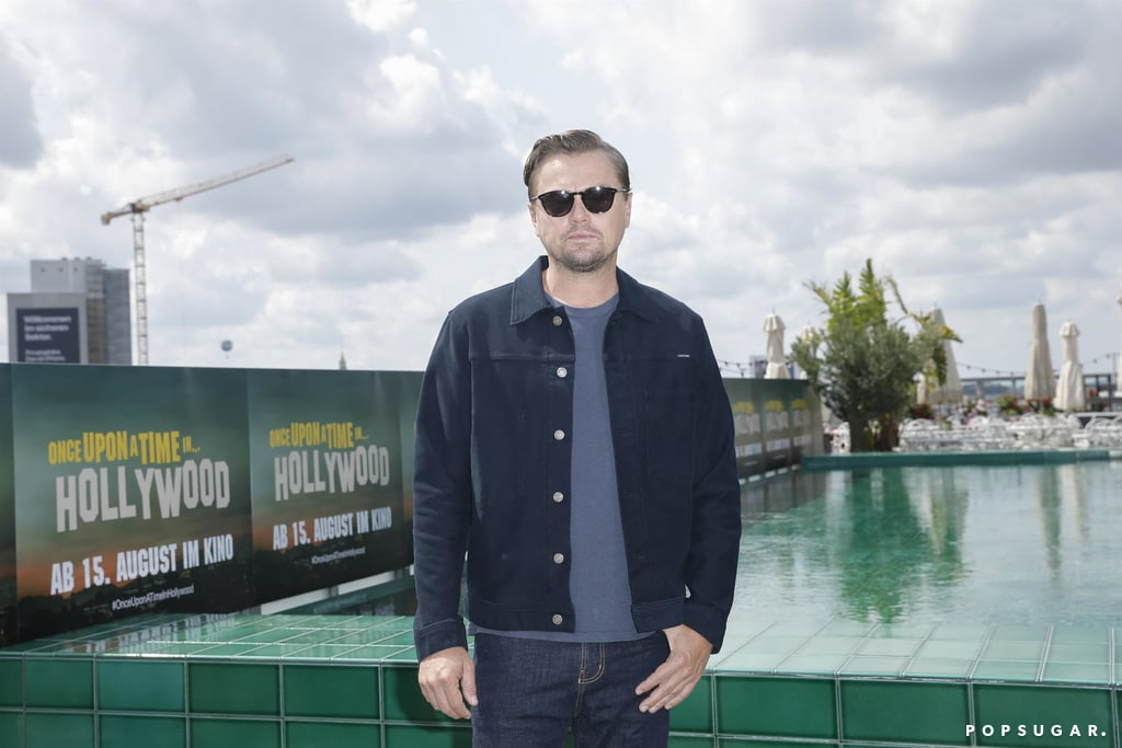 Leonardo DiCaprio at the Once Upon a Time in Hollywood photocall in Berlin.