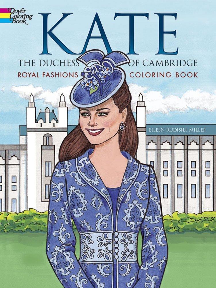 Kate Middleton Coloring Book