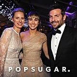 Model Karolina Kurkova posed for a photo with Bradley Cooper and his girlfriend, Suki Waterhouse.