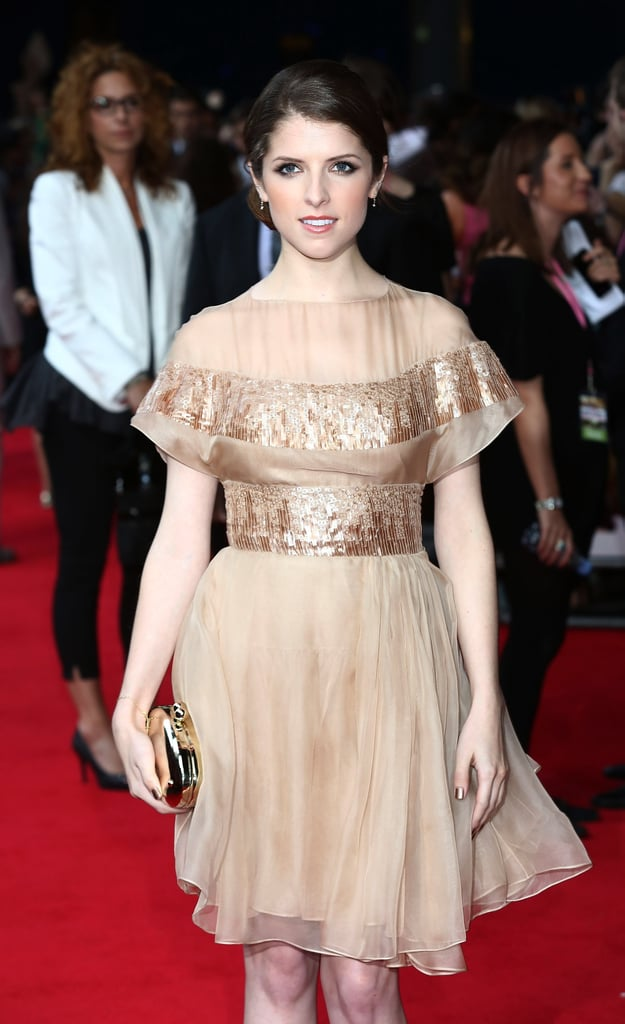 Anna Kendrick walked the red carpet at the What to Expect When You're Expecting premiere in London.