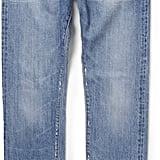 Mr Porter Slim-Fit Distressed Washed-Denim Jeans