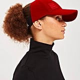 Ivy Park's Velvet Backless Cap