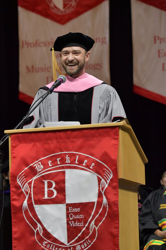 "Justin Timberlake Celebrates Honorary Degree With Jessica Biel: ""Trust Me . . . I'm a DOCTOR!!!"""