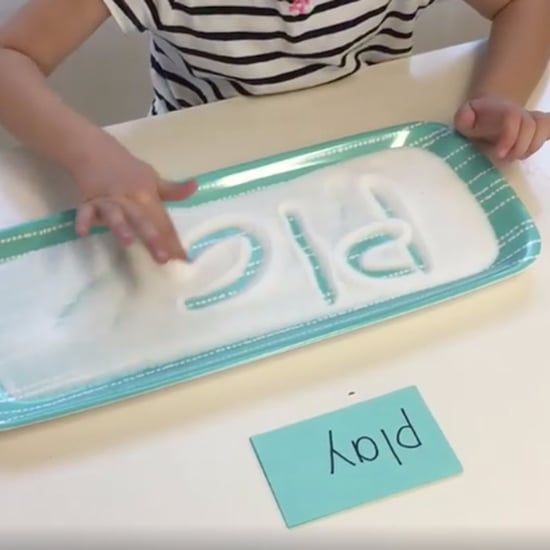 Salt Writing Tray For Kids
