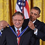 Jazz musician Arturo Sandoval received the Presidential Medal of Freedom.