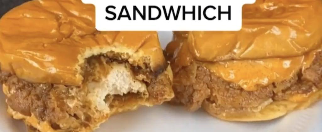 Copycat Popeyes Spicy Chicken Sandwich Recipe | TikTok Video