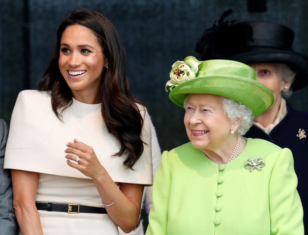 The Queen Invites Meghan to Cheshire