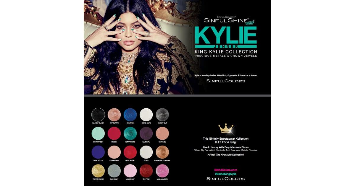 Kylie Jenner and SinfulColors Nail Polish | POPSUGAR Beauty Photo 1