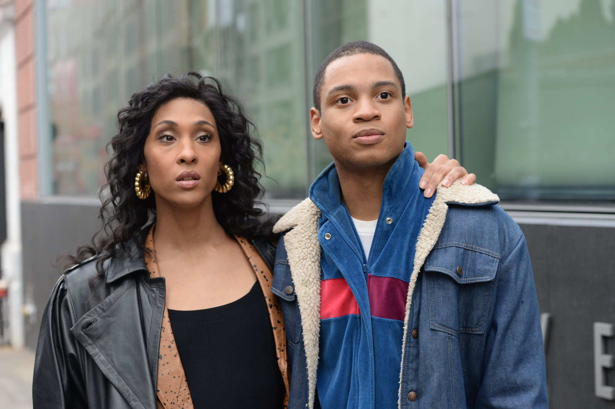 POSE, from left: MJ Rodriguez, Ryan Jamaal Swain, 'Pilot', (Season 1, ep. 101, airs June 3, 2018). photo: JoJo Whilden / FX / Courtesy: Everett Collection