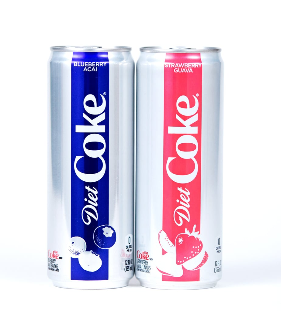Diet Coke Blueberry Acai and Strawberry Guava Flavors