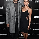Pictured: Zoë Kravitz and Twin Shadow's George Lewis Jr.