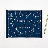 Constellation Wedding Guest Book