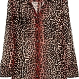 Upgrade any basic pair of jeans with this cool leopard and ombré blouse. Equipment Signature Animal-Print Silk-Chiffon Shirt ($220)