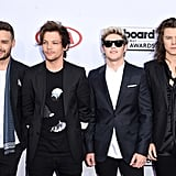 One Direction at the Billboard Music Awards in 2015