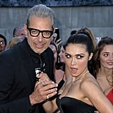 Pictured: Jeff Goldblum and Daniella Pineda