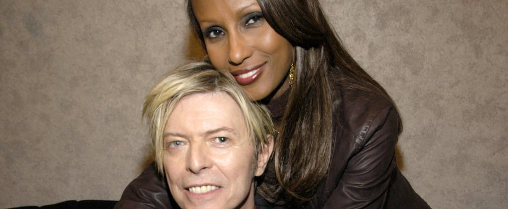 Cutest Pictures David Bowie and Iman