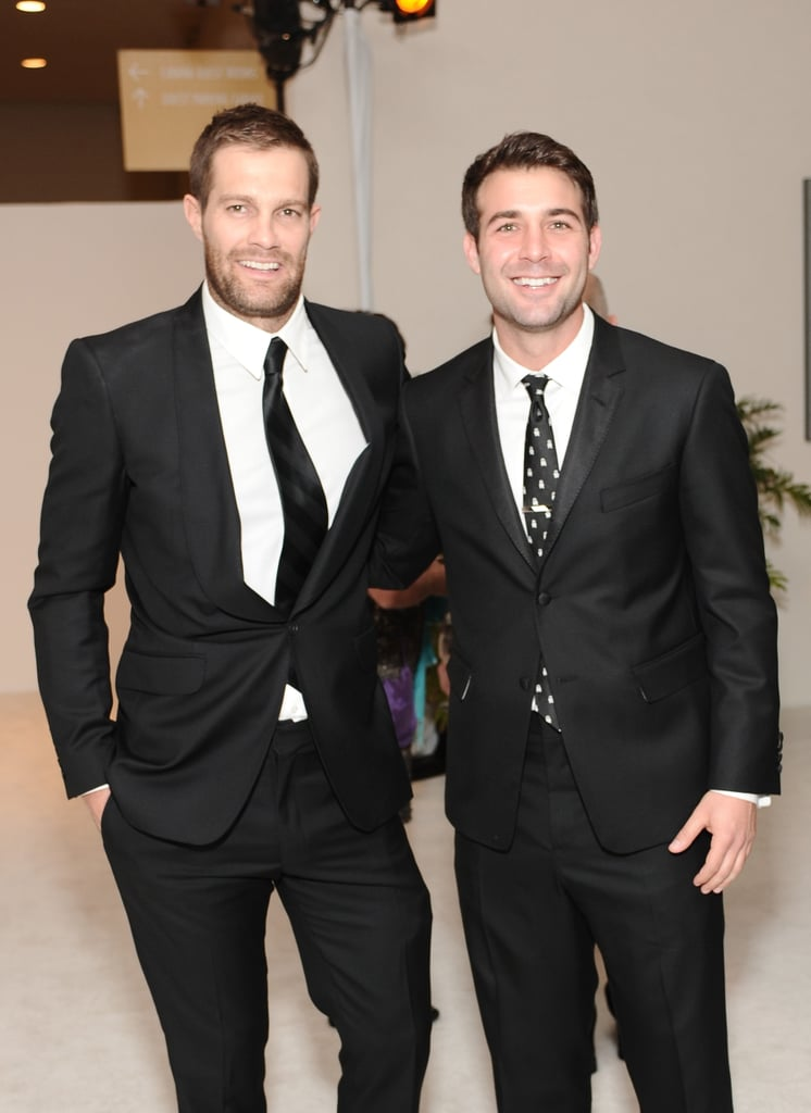 Geoff and James Wolk brought their natural charm.