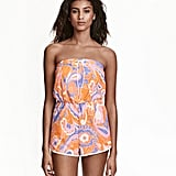 H&M Terry Jumpsuit - Orange/patterned - Ladies ($30)
