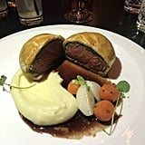 Getting the beef Wellington is a MUST.