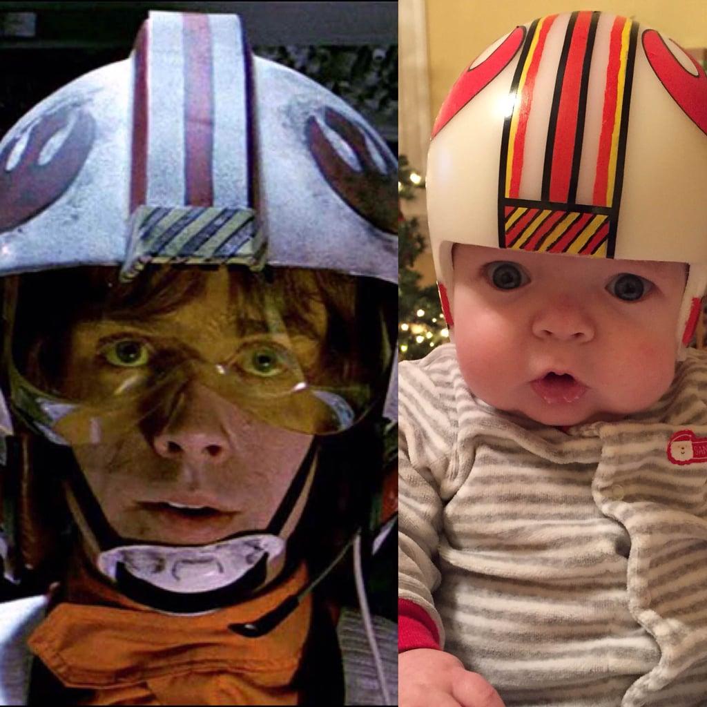Jack's Second Helmet: Luke Skywalker