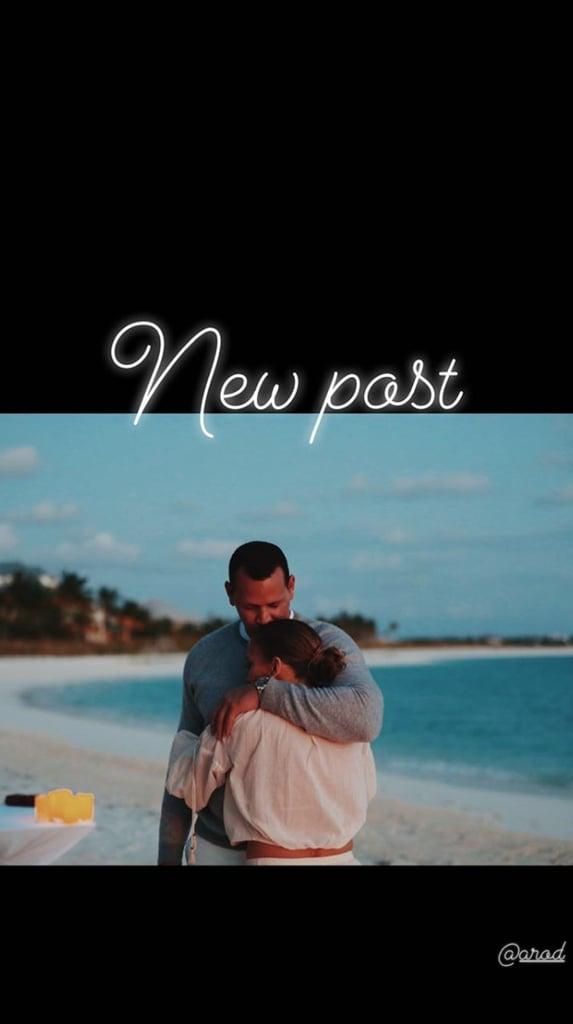 Jennifer Lopez and Alex Rodriguez Engagement Photos
