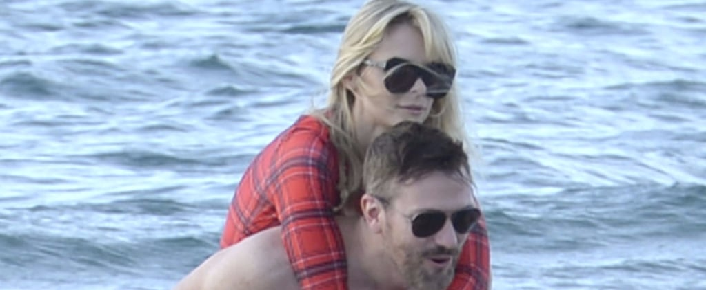 Jaime King Has Some Fun in the Sand With Her Husband in Hawaii