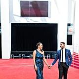 Glam Red Carpet Engagement Ideas