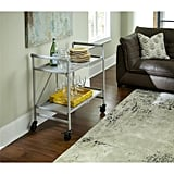 Cosco Smartfold Silver Serving Cart