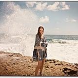 Chloé x Net-A-Porter Printed Lace-appliquéd Cotton Snd Silk-blend Voile Mini Dress ($2,050)