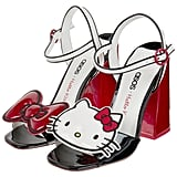 Hello Kitty X ASOS Heeled Sandals With Removable Badges ($87)
